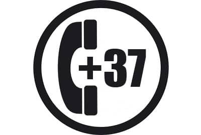 prefijo +37