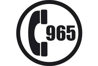 prefijo 965