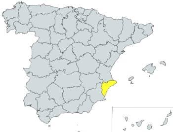 prefijo 965 en España