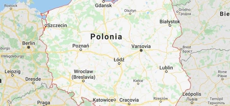 el prefijo 48 en polonia