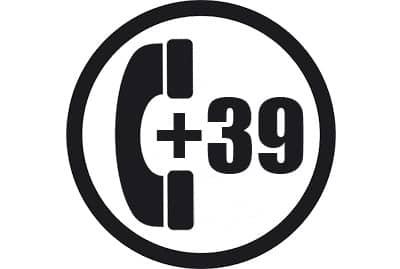 prefijo +39