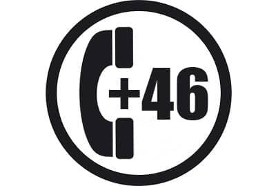 prefijo +46