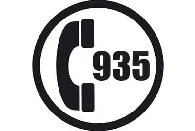 prefijo 935