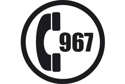 prefijo 967