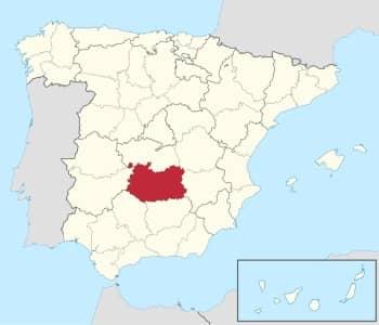 territorio donde se usa el prefijo 926