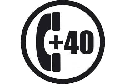 prefijo +40
