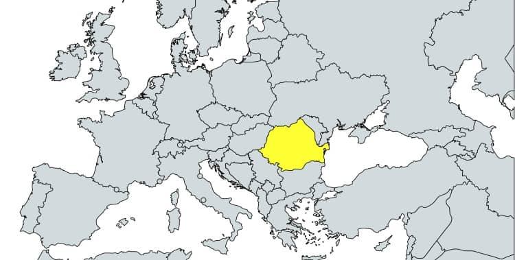 prefijo 40 en Europa