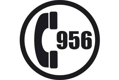 prefijo 956