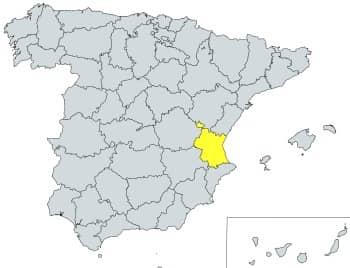 prefijo 961 en España