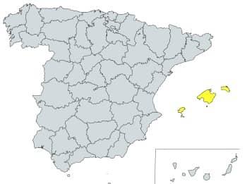 prefijo 971 en España