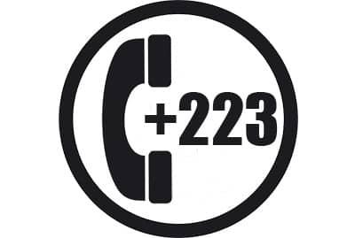 prefijo +223