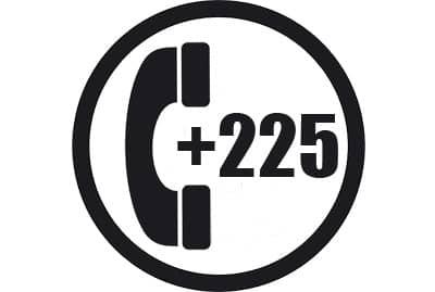 prefijo +225