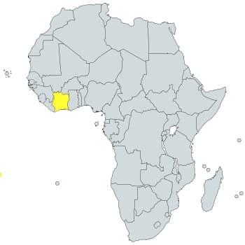 prefijo 225 en África