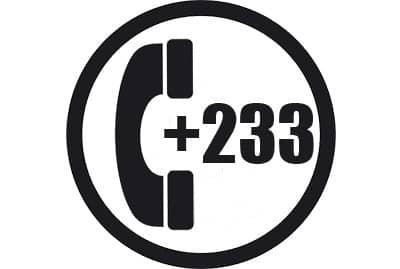 prefijo +233