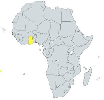 prefijo 233 en África