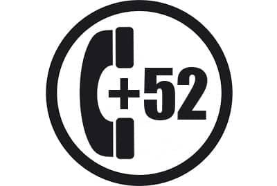 prefijo +52