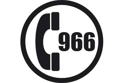 prefijo 966