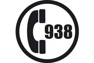prefijo 938