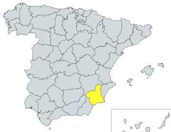 prefijo 968 en España