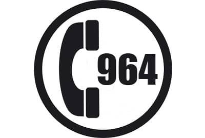prefijo 964