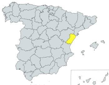 prefijo 964 en España