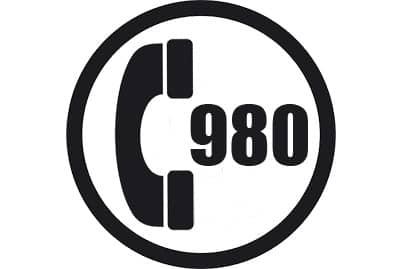 prefijo 980