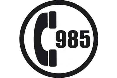 prefijo 985